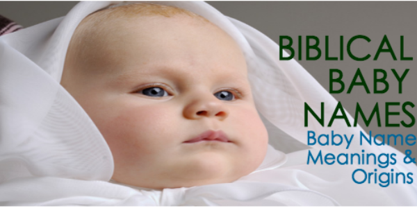 Bibical baby names